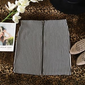H&M Divided Striped Skirt